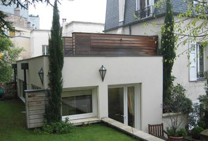 Surelevation maison combles hauts de seine philippe - Renovation maison ancienne architecte ...